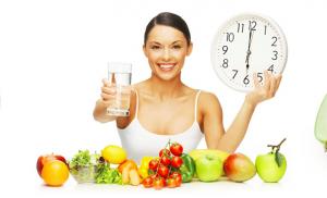 Распишите диету для здоровья и красоты